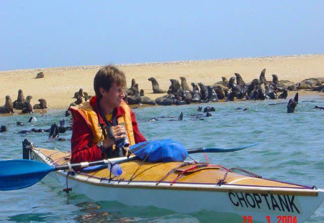 Kayaking in Walvis Bay