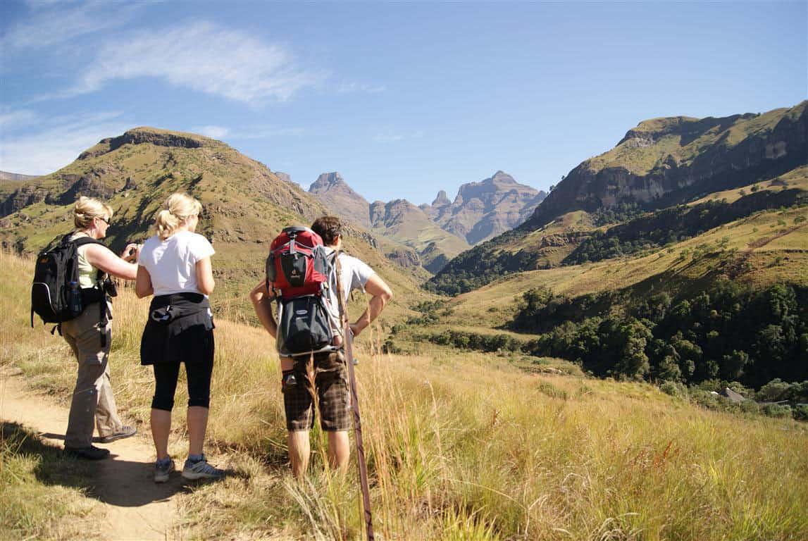 Hiking at Drakensdburg