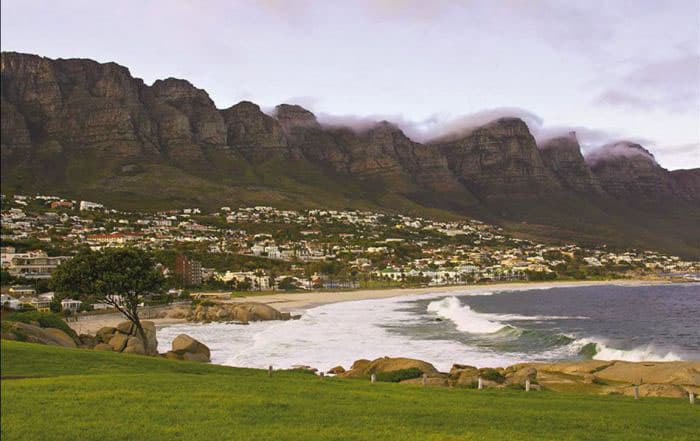 The Garden Route on the South African Coast