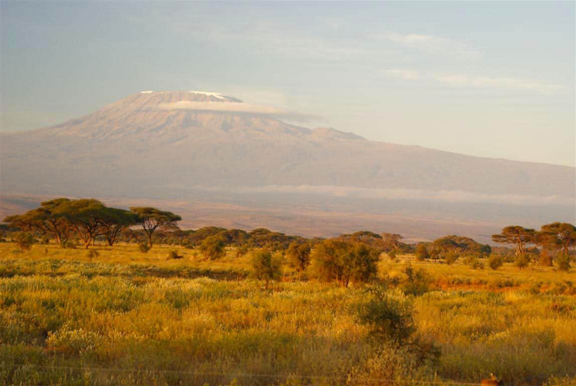 A view of Mount Kilimanjaro