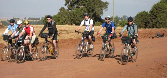 Biking Safaris are a great way to tour Africa
