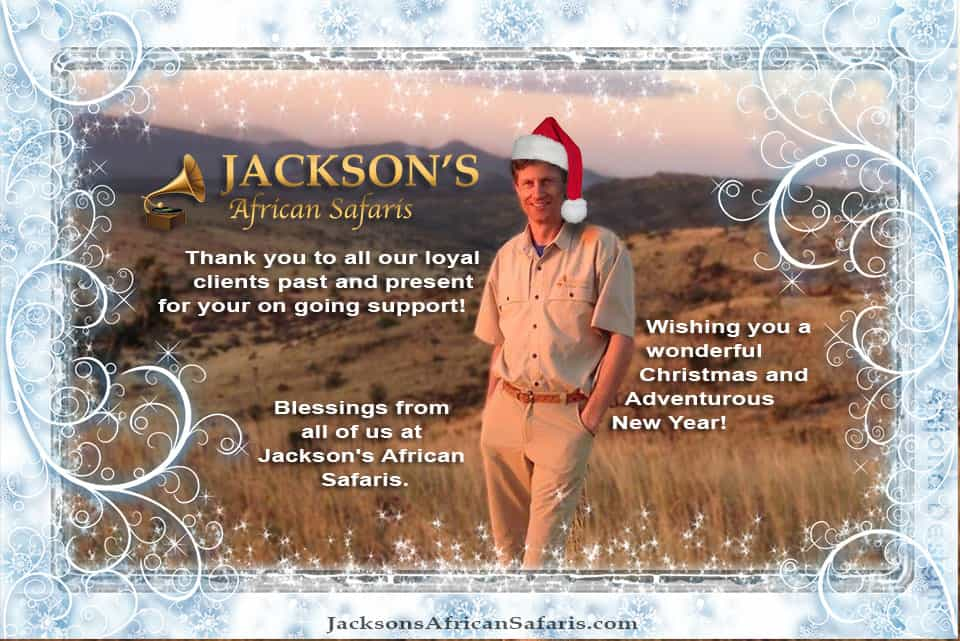 Merry Christmas from Jackson's African Safaris